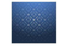 Blue Royal Background by kio on Royal Background, Designer Wallpaper, Interior Design, Classic, Modern, Blue, Illustrations, Patterns, Phone