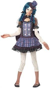 girls broken doll tween costume for halloween - Halloween Costumes That Are Cute