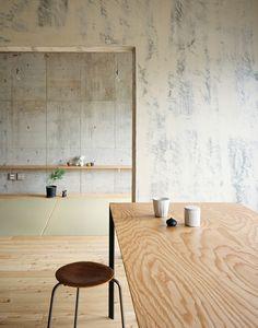 Лофт в интерьере - бетон и дерево