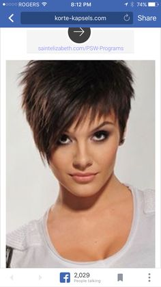 The first action to treating hair loss is crucial. Discover what you require to recognize to kick-start hair growth and stop thinning hair. Short Choppy Hair, Short Hairstyles For Thick Hair, Short Layered Haircuts, Short Hair Cuts For Women, Short Hair Styles, Super Short Hair, Great Haircuts, Corte Y Color, Pixie Haircut