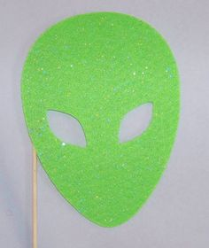 Photobooth Props Alien Mask Photo Booth Glitter