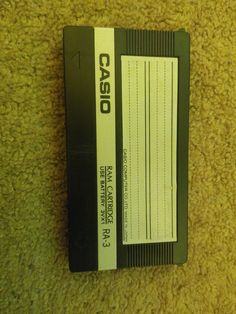 Casio RAM-3 Cartridge