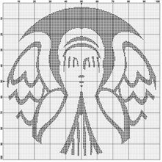 Weeping Angel (Starbucks) Cross Stitch Pattern