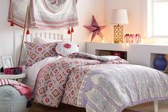 5 Ways to Decorate with Pattern Using the John Robshaw Bedding for Target Photos | Architectural Digest