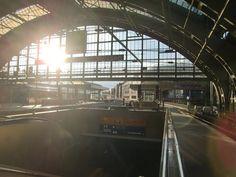train station lighiting