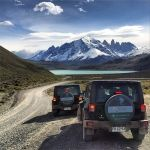 Jeeps in Laguna Amarga - Patagonia Jeep Safari Tour