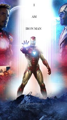I am Iron Man Thanos Fight iPhone Wallpaper - iPhone Wallpapers