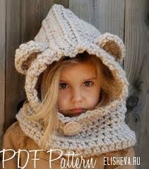 Image result for how to knit a hoodie hat