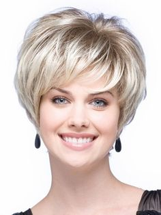 High Temperature Fibre Fancy Dress Costume Party Hair Replacement Wigs for Sexy Lady Stylish Short Pixie Cut Hairstyle Wigs for Women Healthy Natural Synthetic Hair Full Wigs with bangs Natural Blonde Female Wig Hairpiece Short Hair Wigs, Wigs With Bangs, Girl Short Hair, Short Hair Styles, Curly Wigs, Bob With Bangs, Afro Wigs, Wedge Hairstyles, Straight Hairstyles