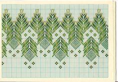 Mis pasiones passiflora: ESQUEMAS PUNTO YUGOSLAVO Swedish Embroidery, Hand Work Embroidery, Types Of Embroidery, Diy Embroidery, Cross Stitch Embroidery, Embroidery Patterns, Cross Stitch Borders, Cross Stitch Designs, Cross Stitch Patterns