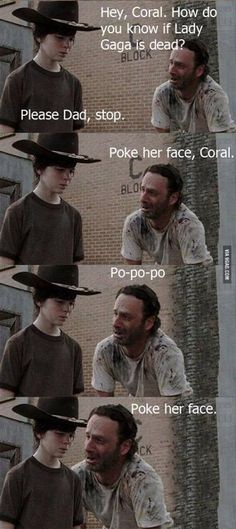 TWD Coral funny...I will never be tired of these!