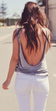 Backless (Open Back) Tops