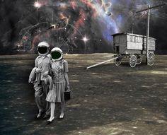 Nuevos colonos para nuevos mundos dejando atrás realidades físicas y tangibles
