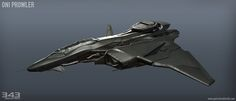 ArtStation - Halo 5: Guardians Prowler, Patrick Sutton