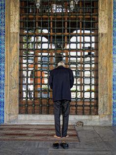 Rustem Pasha mosque, Istanbul | Praying at Rustem Pasha Mosque