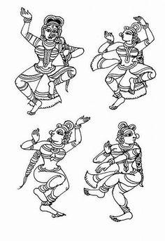 Indian Painting Styles...Kalamkari Paintings (Andhra Pradesh)-figures-2-.jpg