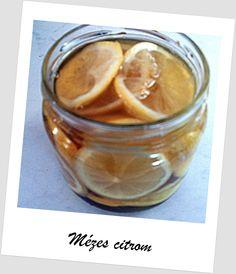 Honey and lemonn mézes citrom Peanut Butter, Healthy, Gifts, Food, Presents, Essen, Meals, Favors, Health