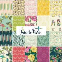 Say hello to one of the most cheerful fabric lines ever! The Joie de Vivre Fabric Collection by Bari J. is a simply gorgeous roundup of brightly colored fabrics in a wild array of designs. From flowers to pugs to geometrics and more, this collection from Art Gallery Fabrics will absolutely enrapture you.