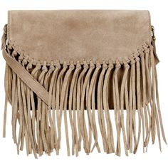 Accessorize Mini Leather Fringe Across Body Bag ($54) ❤ liked on Polyvore featuring bags, handbags, shoulder bags, purses, leather fringe purse, brown shoulder bag, leather handbags, brown crossbody and brown crossbody purse