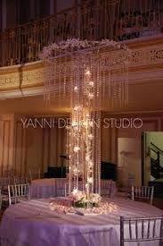 Image result for chandelier centerpieces rentals