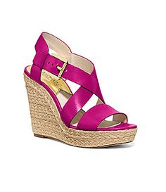 MICHAEL Michael Kors Giovanna Wedge Sandals #Dillards