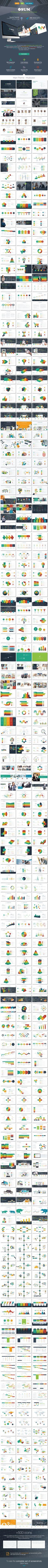 OSUM Multipurpose Presentation Template. Download here: http://graphicriver.net/item/osum-multipurpose-presentation-template/16124352?ref=ksioks