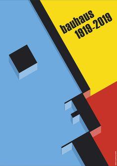 Home - 100 years Bauhaus Design Bauhaus, Bauhaus Art, Bauhaus Interior, Typography Poster Design, Graphic Design Posters, History Of Textile, Retro Background, Walter Gropius, Art History