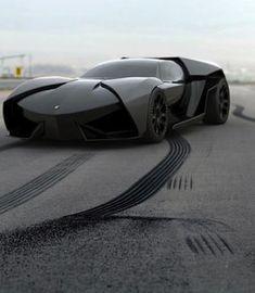 Lamborghini Ankonian Concept: Reventon Meets Batmobile=awesomeness!!