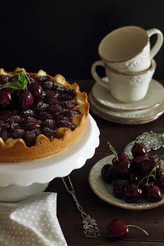 Crostata di ciliegie e ricotta | Formine e Mattarello