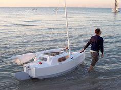 Bill's Log: 'Elusion', Matt Layden's Micro-sailboat