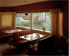 Stephen Shore #fotografia #photography Sugar Bowl Restaurant (7 July, 1973), Gaylord, Michigan, USA