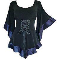 Dare To Wear Victorian Gothic Women's Plus Size Treasure Corset Top