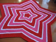 Free pattern for crochet star blanket - Chromium Star Blanket | A Whole Load of…