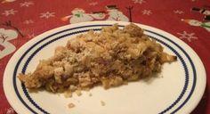 Recetas Sencillas: Crumble de Manzana (apple crumble) Grains, Rice, Food, Simple, Tarts, Meal, Essen, Hoods, Meals