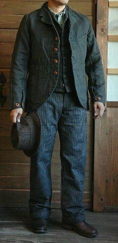 Men's clothing 1860s