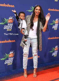 Ciara and Baby Future....adorbs