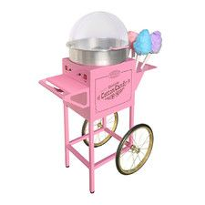 Every great bash needs good food and Cotton Candy is oh so sweet. Vintage Commercial Cotton Candy Machine