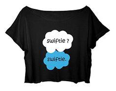 Free Shipping Women's Crop Top Okay Okay t-shirt Swifties TAYLOR SWIFT member Crop Tee