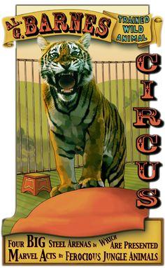 Circus Banner...