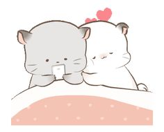LINE Stickers Super Soft Simao & Bamao we're back!,Stickers,,Example with GIF Animation Cute Cartoon Images, Cute Love Pictures, Cute Couple Cartoon, Cute Love Gif, Cute Love Cartoons, Cute Cat Gif, Cute Cartoon Wallpapers, Cute Images, Cute Bear Drawings