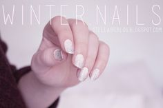 winter nails {Stellaire}