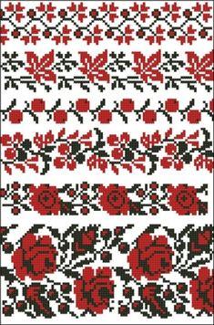 Простые крестики(схемы) / Вышивка / Вышивка крестом Cross Stitch Tree, Cross Stitch Borders, Cross Stitching, Cross Stitch Embroidery, Embroidery Patterns, Cross Stitch Patterns, Hippie Crochet, Palestinian Embroidery, Bead Loom Patterns
