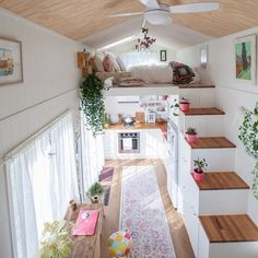 Tiny MissDolly On Wheels A place of inspiration in tiny house living Tiny House Design House inspiration living MissDolly place Tiny Wheels Tiny House Plans, Tiny House On Wheels, Building A Tiny House, Tiny House Living, Small Tiny House, Tiny House 2 Bedroom, Tiny House Closet, Small House Living, Living Place