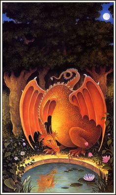 This reminds me of Emmett when he told me there was a dragon crying in the woods.