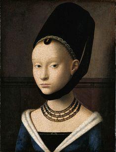 File:Petrus Christus - Portrait of a Young Woman - Google Art Project.jpg