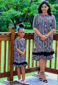 73 Edition Of - Matching Aso Ebi Style and African Print Outfits For Family! African Dresses For Kids, Latest African Fashion Dresses, African Dresses For Women, African Print Dresses, African Print Fashion, African Attire, Ankara Fashion, African Outfits, Mother Daughter Matching Outfits