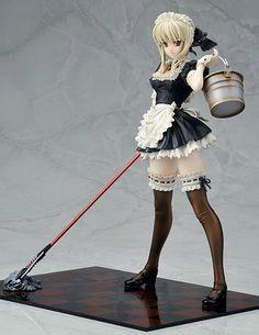 Resultado de imagem para Fate Hollow Ataraxia Saber ALTER Maid