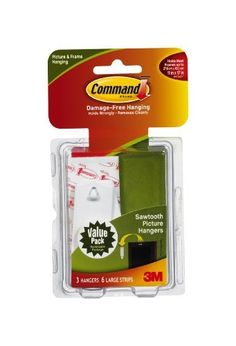 Command Sawtooth Picture-Hanging Hooks, 3-Hanger by Command. $7.58. Amazon.com                  3M Adhesive Technology 3M Command products offer simple, damage-free hanging solutions for many projects in your home and office. Simplify decorating, organizing, and celebrating with an array of general and decorative hooks, picture and frame hangers, organization products, and more.Thanks to the innovative Command Adhesive strips, you can mount and remount the bundlers without ...