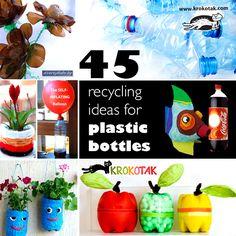 plastic bottles craft ideas for kids
