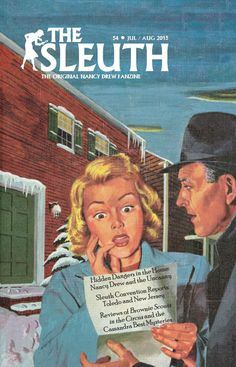 The Sleuth.a Nancy Drew Sleuths Publication Nancy Drew Mystery Stories, Nancy Drew Mysteries, Nancy Drew Books, The Uncanny, Library Books, Book Collection, Vintage Books, Poster, Childhood